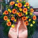 Blumenkranz Grabschmuck